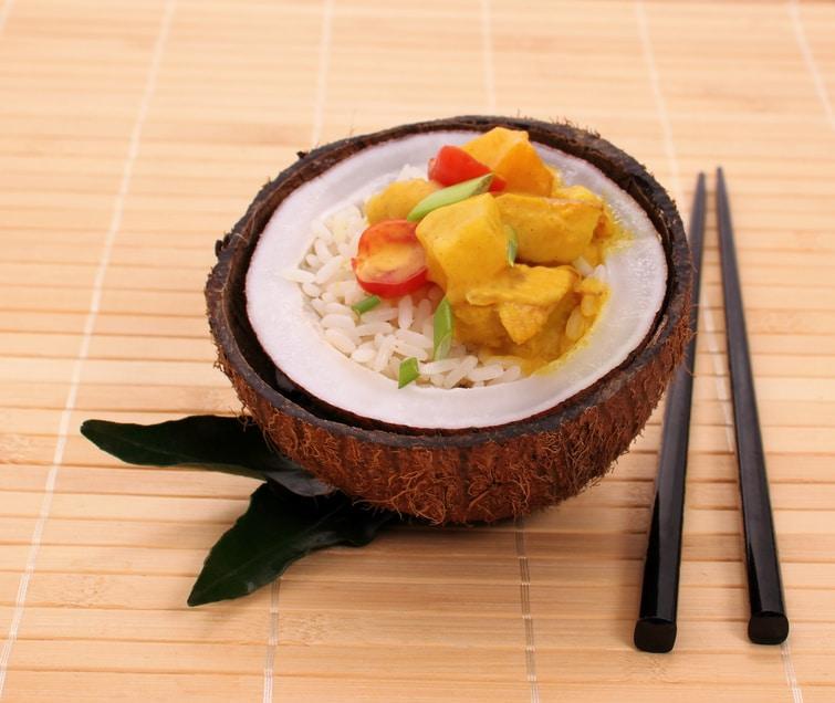 Veganes Mango-Curry: Einfach, köstlich und gesund