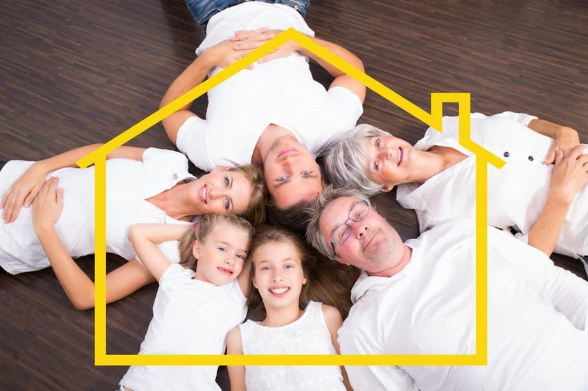 Mehrgenerationenhaus: Vorteile und worauf ich achten muss