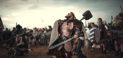 LARPer in der Schlacht