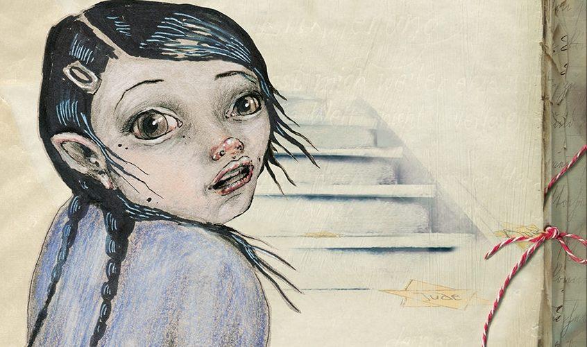 """Ausschnitt der Titelseite des Kinderbuches """"Susi, die Enkelin von Haus Nummer ... und die Zeit der versteckten Judensterne"""