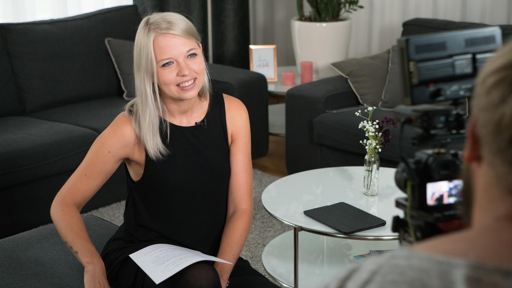 Moderatorin Kristina Weitkamp