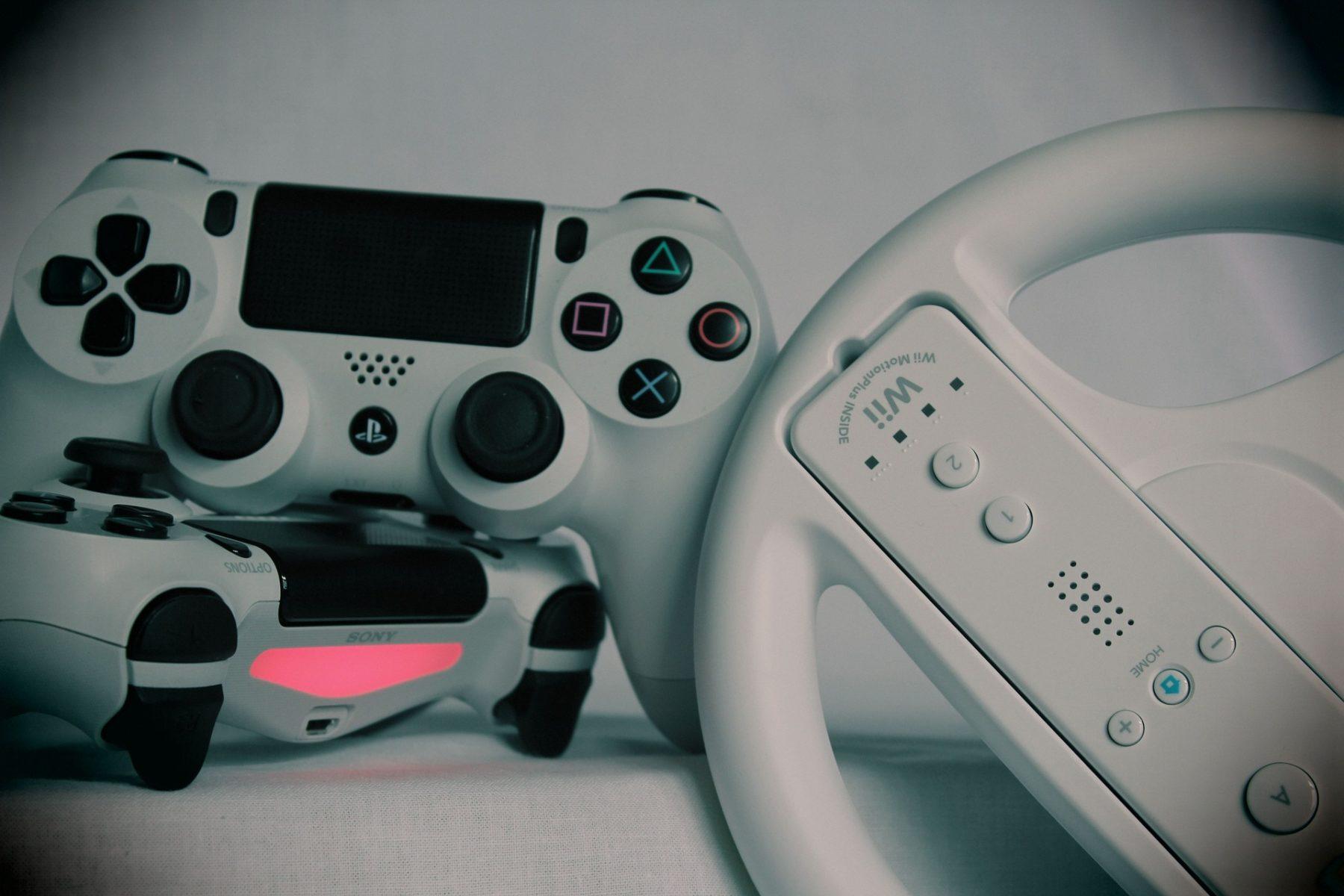 Konsolen mit Gamepad