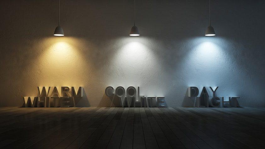 Farbspektrum Von LED Lampen Von Warm Bis Kalt