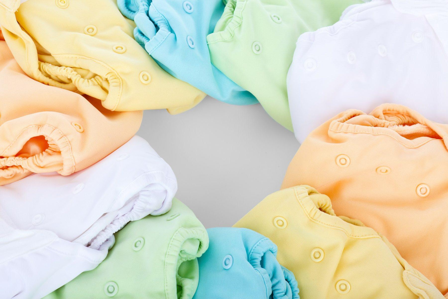 Bunte Windelhöschen für Babies