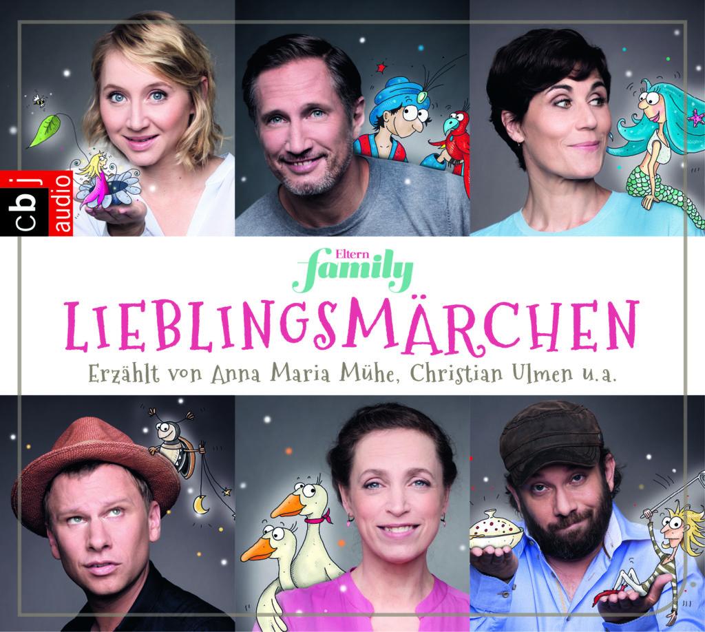 Cover einer CD-Box mit Lieblingsmärchen