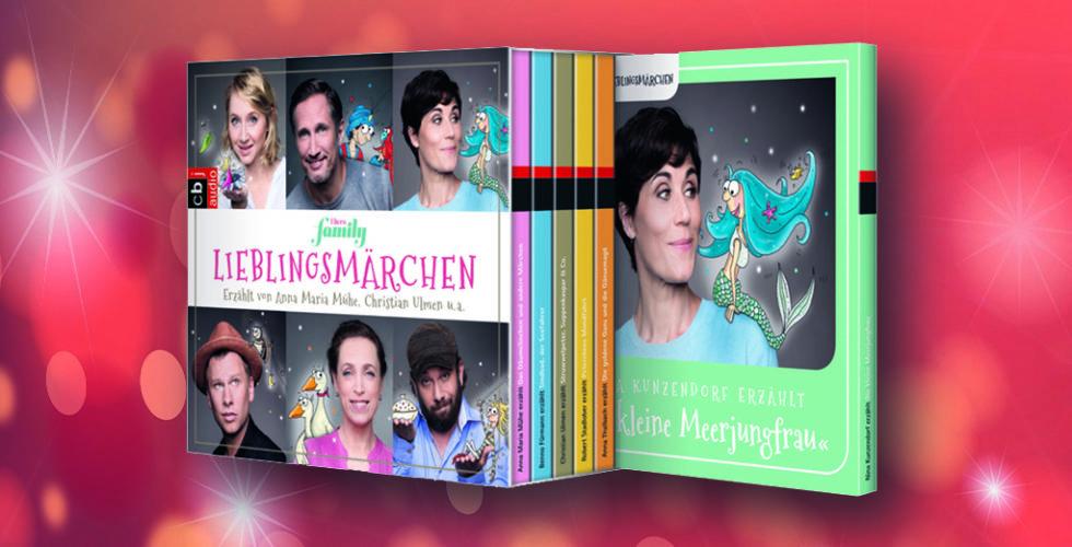 Cover einer CD-Sammlung von Märchen