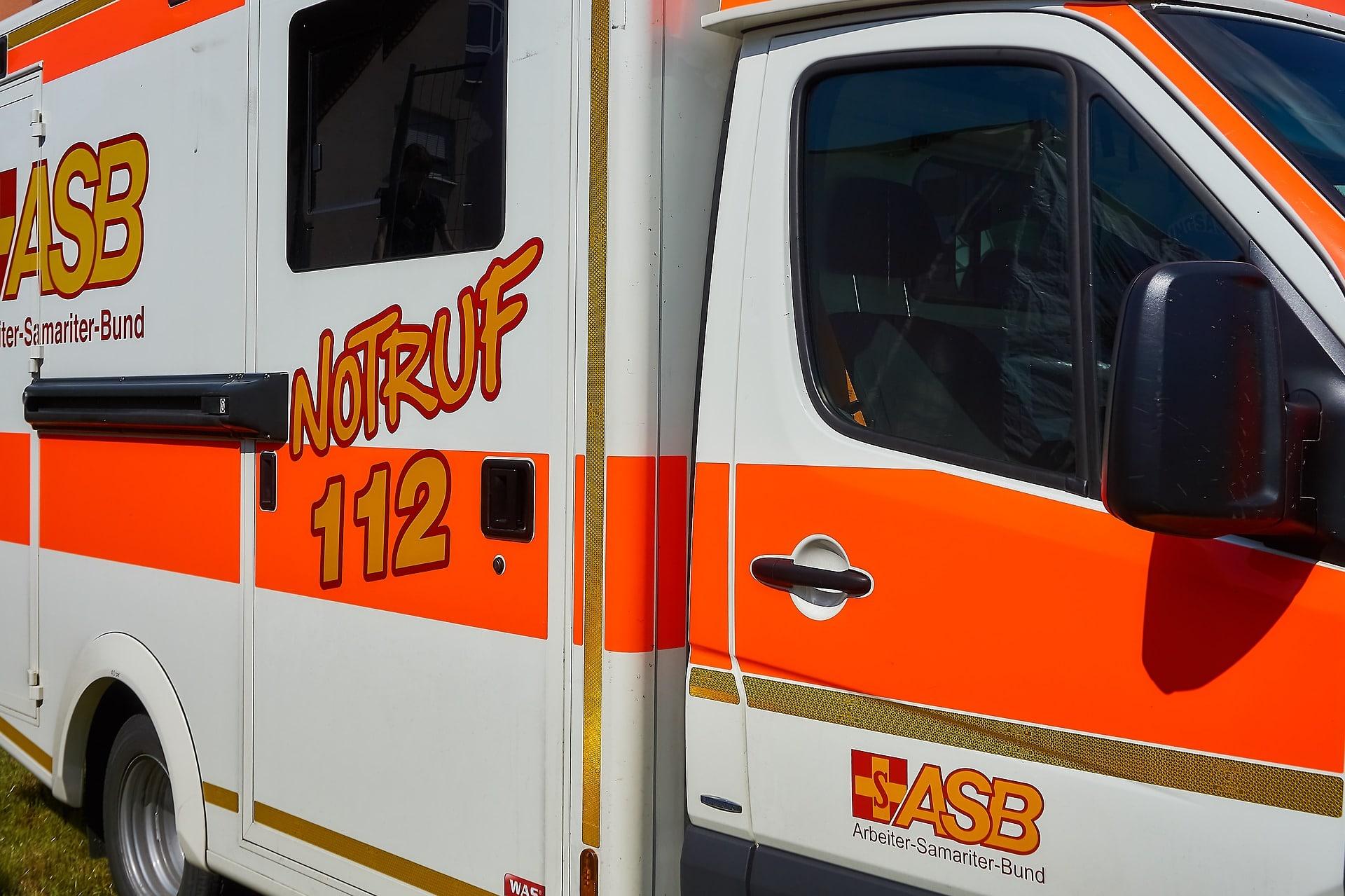 Ambulanz für Blitzschlagopfer gerufen