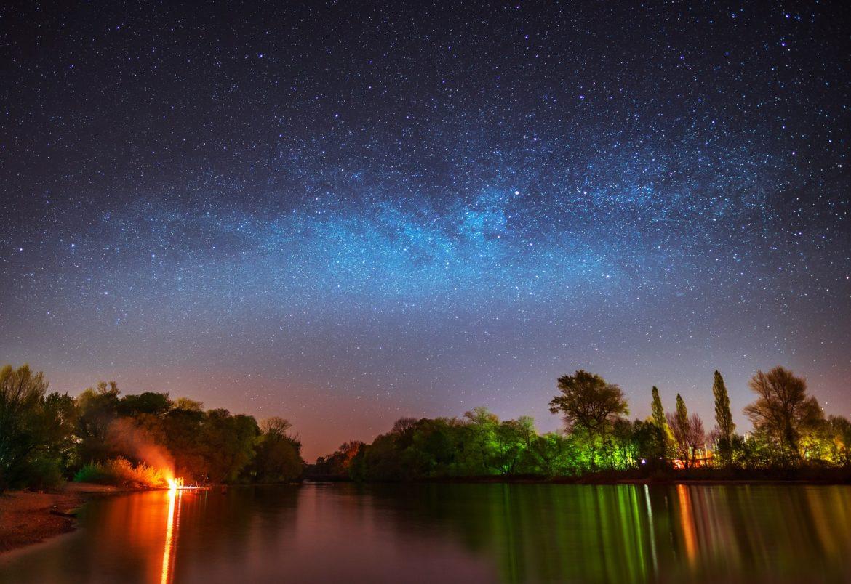 Milchstraße am Sommerhimmel