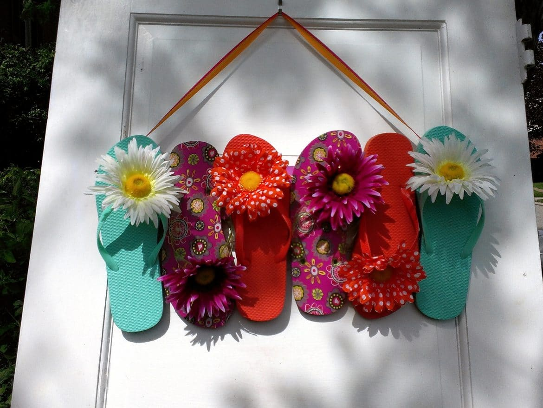 Flip Flops mit Blumen