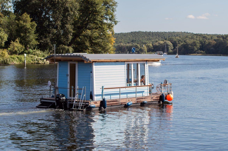 Hausboot auf der Müritz