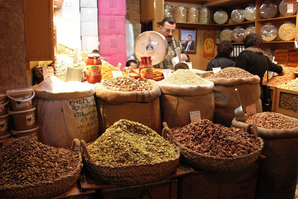 Gewürze am Bazar in Kairo