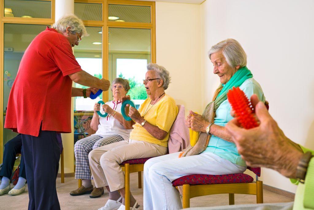 Senioren beim Training