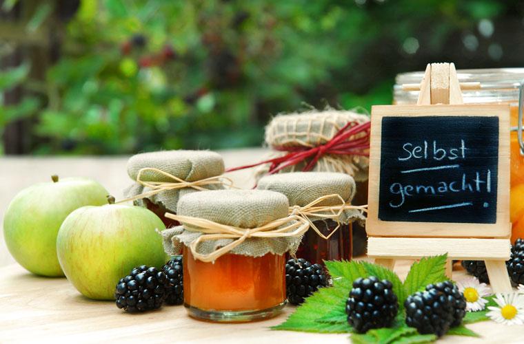 Hamsterkauf bei Selbstversorgern - Selbstgemachte Marmelade