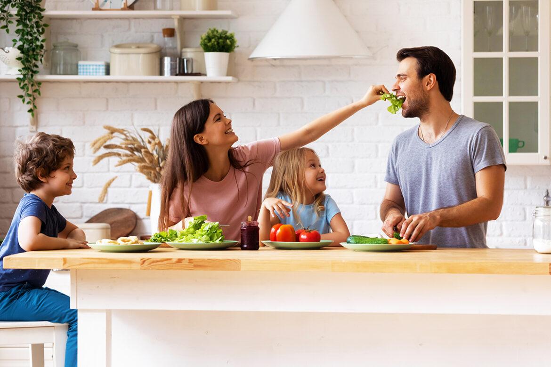 Gesündere Gewohnheiten für den Familienalltag